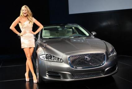 Jaguar xj launch