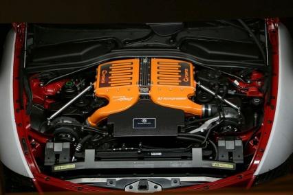 G Power BMW M6 Hurricane CS engine