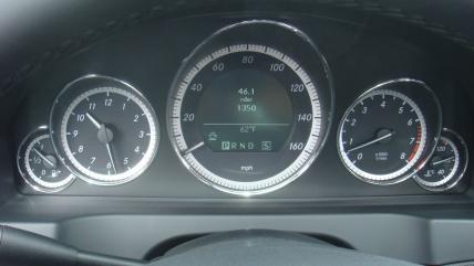 Mercedes E-Class Coupe приборы