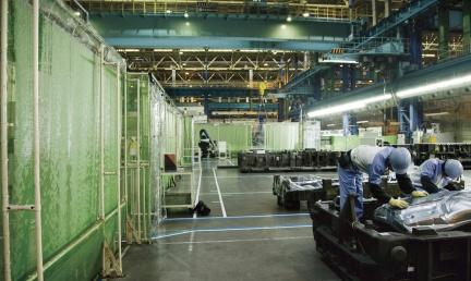 Фабрика по производству Lexus RX 450h