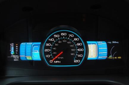 Ford Fusion Hybrid приборная панель