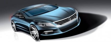 2009 Volkswagen Passat концепт