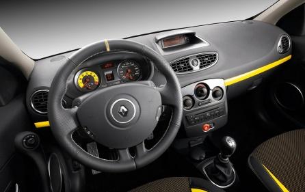 Clio Renaultsport interior