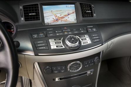 Infiniti M45S navigation system