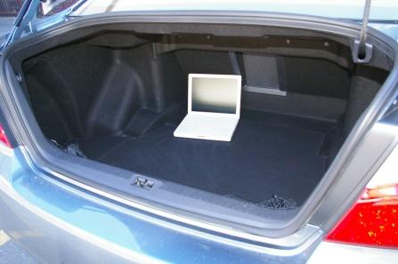 Infiniti M45S багажник