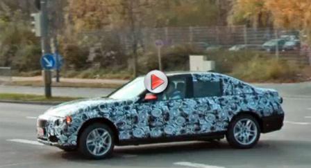 New BMW 3 series 2012