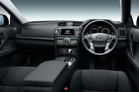 2010 Toyota Mark X салон