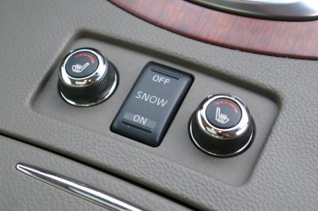 infiniti G37  sedan interior