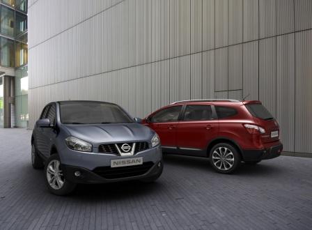 Nissan Qashqai и qashqai+2 2010