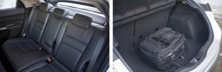 Honda Civic Si Сиденья багажник