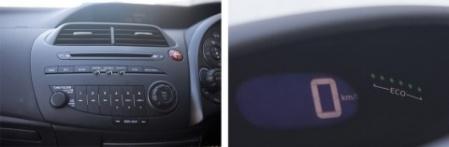 Honda Civic Si панель управления