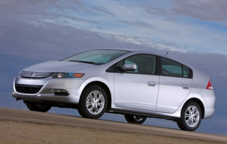 2010 Honda Insight Silver