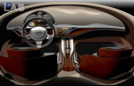 Buick Avant concept imterior