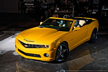 Drop Top Customs Chevrolet Camaro Convertible