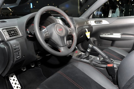 Subaru WRX STI special edition interior