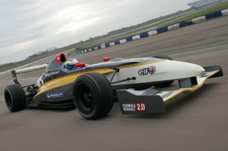 Новый гоночный болид Renault