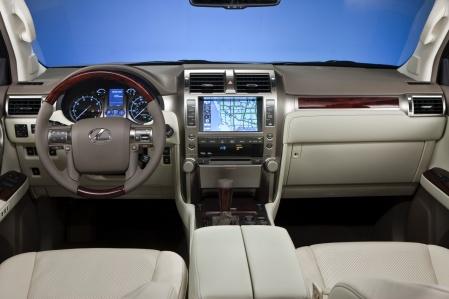 Lexus GX460 2010 interior