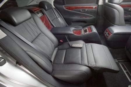 2007 Lexus LS460 салон