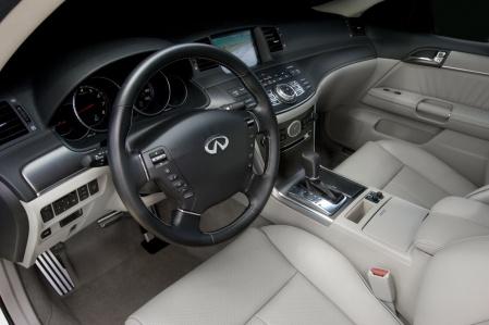 Infiniti M45S interior