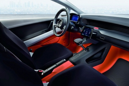 VW UP Lite concept interior