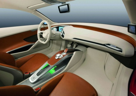 Audi E-Tron Concept салон