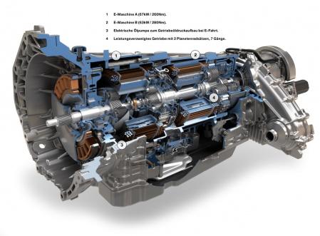 BMW ActiveHybrid X6 motor