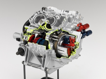 Honda dual-clutch gearbox