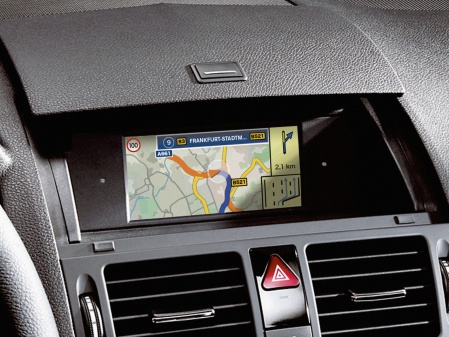 Navigation 20 Mercedes Benz system