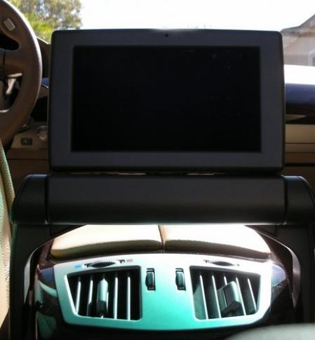 2007 BMW 760Li тест драйв экран