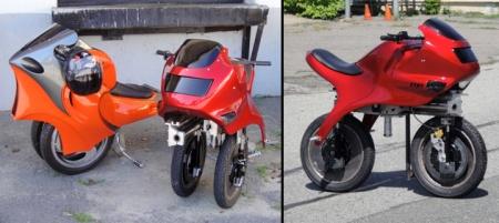 Электроцикл Uno