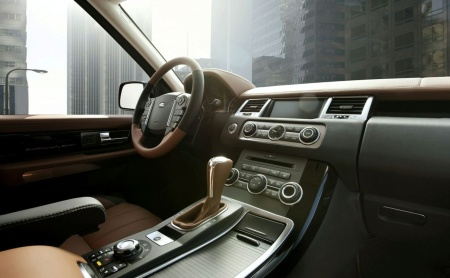 Range Rover Sport Autobiography limited edition 2010 interior