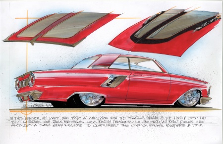 Ringbrothers 1964 Afterburner Ford Fairlane