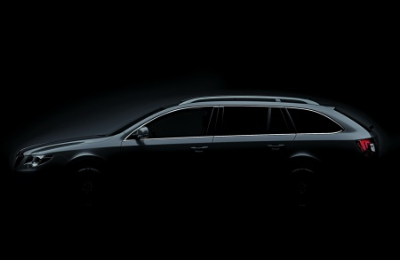 Skoda Superb Estate teaser