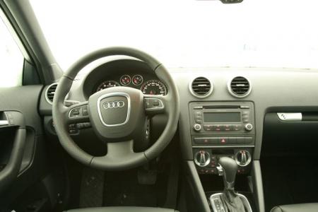 Audi A3 2009 interior