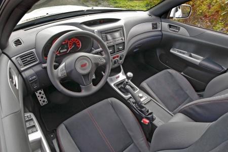 Impreza WRX STI Special Edition interior
