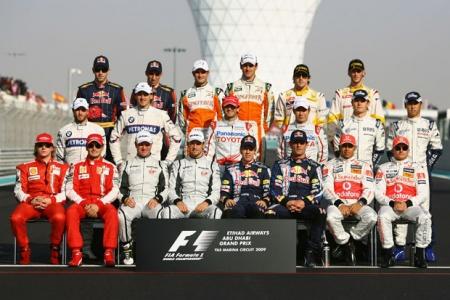 Команды F1