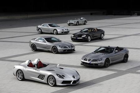 McLaren-Mercedes cars