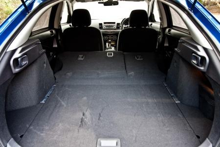 Mitsubishi Lancer Ralliart Sportback багажник