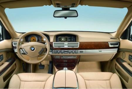 2007 BMW 760Li тест драйв салон