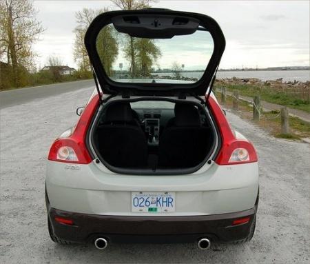 2008 Volvo C30 T5 багажник