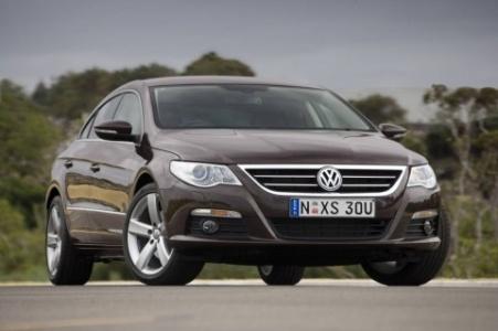 2009 Volkswagen Passat внешний вид