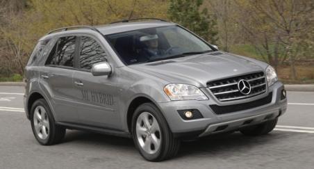 2009 ML550 ML450 Hybrid
