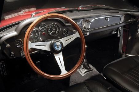 Aston Martin DB4 GT 1963 cалон