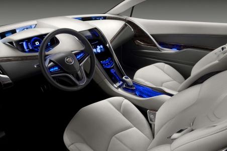 Cadillac Converj Concept салон