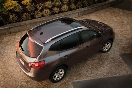 2010 Nissan Rogue вид сверху