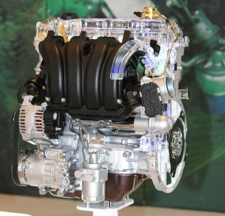 Двигатель Hyundai с прямым впрыском