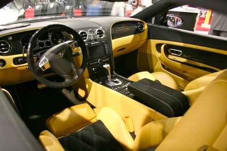 Bentley Continental GT Nutek Wheels interior