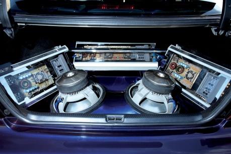 Lexus IS 300 audio