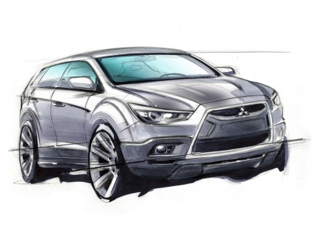 Concept-cX-influenced compact crossover for 2010