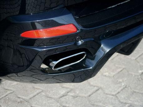 BMW X5 E70 Hartge выхлопные трубы